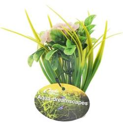 Cheeko Aqua Dreamscapes Aquatic Plant - Planted Flower 15cm