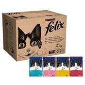 Felix Variety Selection Adult Cat Food 100g X 120 Pouches