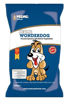 Pedro Wonderdog Dog Food - Muesli Supreme With Beef and Veg 15kg