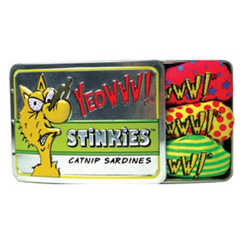 Rosewood Yeowww Tin Of Stinkies In A Sardine Tin, Pack Of 3