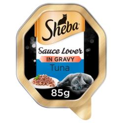 Sheba Cat Tray 85g Sauce Lover / Tuna in Sauce