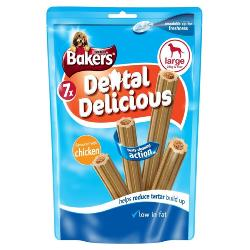 Bakers Dental Delicious Sticks (Large - 7 Pack)
