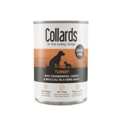 Collards Grain Free Dog Food - Turkey & Cranberry