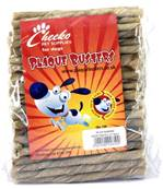 Cheeko Plaque Busters Gluten Free Rawhide Chew Twist Dog Treats - 100 Pack