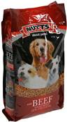 Nutts About Pets Dog Food - Beef 15kg