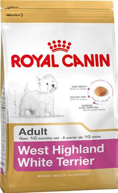 Royal Canin Dry Dog Food Breed Nutrition West Highland White Terrier / 1.5kg