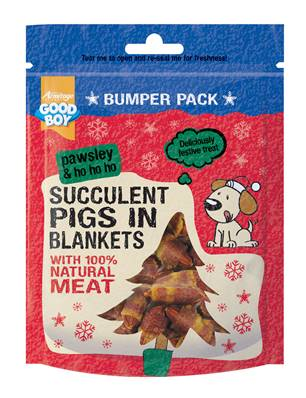 Armitage Pawsley Bumper Bag of Succulent Pigs In Blankets 300g