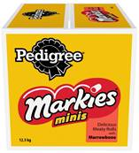 Pedigree Markies Minis Dog Biscuits - Meaty Rolls With Marrowbone 12.5kg