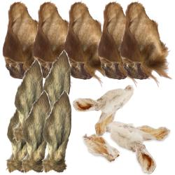 Anco Naturals Dog Treat Hairy Cow, Deer & Rabbit Ear Value Pack