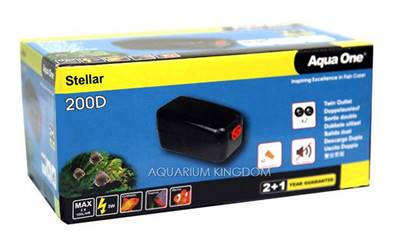 Aqua One Stellar Air Pump 200D L/PH