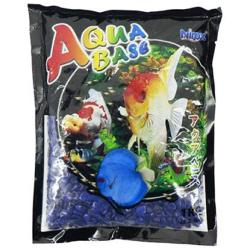 Aqua Base Sky Blue Aquarium Gravel 1kg