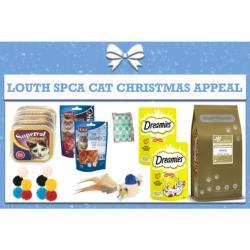 LOUTH SPCA DONATION - Christmas Appeal Box For Cats - Approx €15