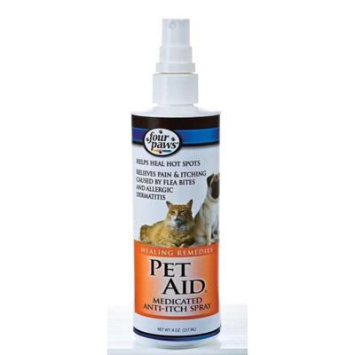 Pet Aid Medic Healing Remedies Anti Itch Spray