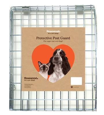 Rosewood Steel Wire Post Guard