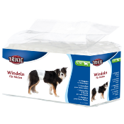 Trixie Diapers For Male Dogs 30-46cm S-M 12 Pack