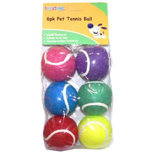Cheeko Tennis Balls (6 Pack)