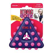 Kong Dotz Triangle Small Dog Toy