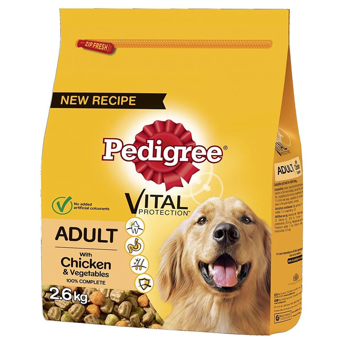 Pedigree Complete Dog Food Adult Chicken 2 6kg