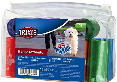 Trixie Dog Dirt Bags 14 Rolls Of 15 Pieces