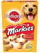 Pedigree Markies Dog Biscuits - Meaty Rolls With Marrowbone 1.5kg