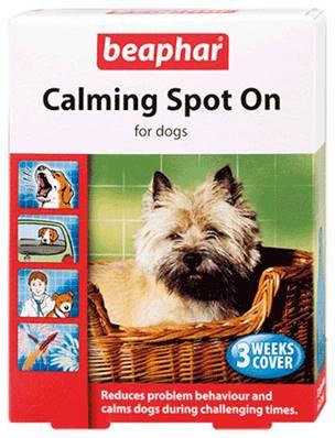 beaphar calming dog spot on. Black Bedroom Furniture Sets. Home Design Ideas