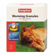 Beaphar Worming Granules For Cats 50g