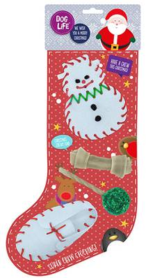 Dog Life Super Chew Christmas Stocking For Dogs