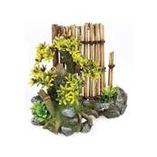 Classic Bamboo Garden Plants Aquarium Ornament