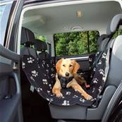 Trixie Car Seat Cover, Black/beige 0.65x1.45m