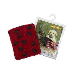Hotties Microwavable Pet Warmer With Fleece Cover