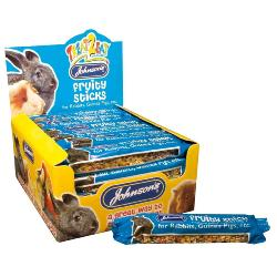 Johnson's Fruity Stick Rabbit and Guinea Pig Treat Bar 45g