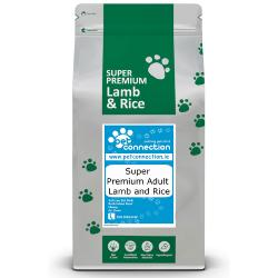 Pet Connection Super Premium Hypoallergenic Adult Dog Food - Lamb & Rice