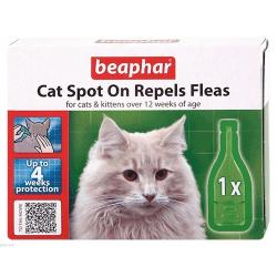 Beaphar Cat Flea Repellent Spot On Treatment