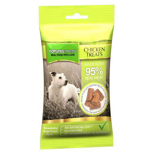 LOUTH SPCA DONATION - Natures Menu Treats Chicken 60g