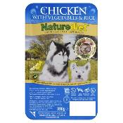 DOGS IN DISTRESS DONATION - Naturediet Wet Dog Food (Adult) - Chicken, Veg and Rice 390g
