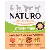 Naturo Grain Free Wet Dog Food (Adult) - Salmon, Potato and Veg 400g