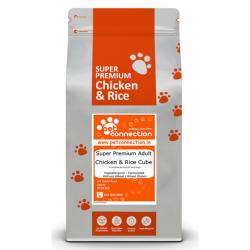 Pet Connection Super Premium Hypoallergenic Working Dog Food (VAT FREE) - Chicken & Rice 15kg