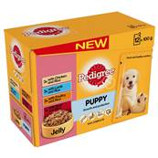 Pedigree Puppy Pouches - Meat Selection (12 X 100g)