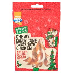 Armitage Pawsley Chewy Candy Cane Twists With Chicken
