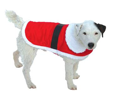 "Armitage Christmas Dog Santa Coat XS 254mm (10"")"