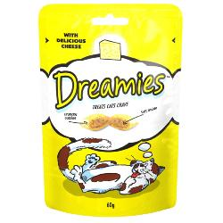 PHIBSBORO CAT RESCUE DONATION - Dreamies Cat Treats - Cheese 60g
