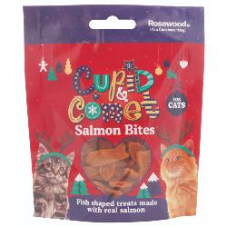 Rosewood Salmon Bites For Cats 40g