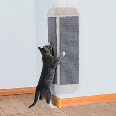 Trixie Scratching Board For Corners Light Grey
