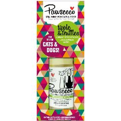 Pawsecco Tipple & Truffles Luxury Gift Set For Dogs & Cats