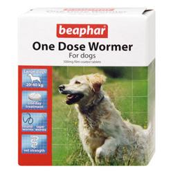 GREAT HOUNDS IN NEED DONATION - Beaphar One Dose Wormer (Large Dog 4 Tablets)