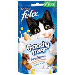 Felix Treats Goody Bag 60g Dairy Delicious