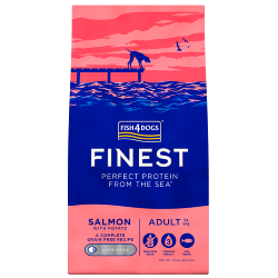 Fish4Dogs Finest Grain Free Dog Food - Salmon with Potato (Adult Large Breed)