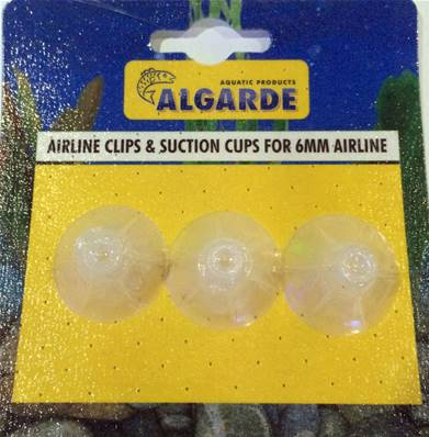 Algarde 6mm Airline Clips & Suckers