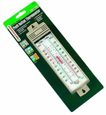 Gardman Max/Min Push Button Thermometer