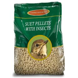 J&J Suet Pellets With Insects 12.75kg